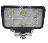 18W à LED IP67 étanche Offroad phare de travail de conduite pour les motocyclettes de voiture