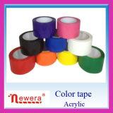Karton BOPP die de Zelfklevende Band van de Verpakking van de Kleur Zelfklevende verzegelen