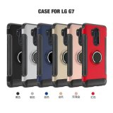LG G7のための柔らかい裏表紙のケース、360度のケースの電話箱