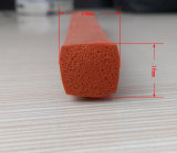 Espuma de resistência ao calor Perfil de borracha de silicone/Alimentação