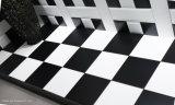 beëindigde Tegel van de Vloer van 8X8inch/20X20cm de Zwarte Beëindigde Ceramische Tegel