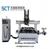 Jinan 1325 3kw, el cuadro de aluminio de husillo de la máquina de grabado CNC 1325