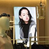 Shopping Mall Slim Látice LED backlit Gráfico Têxteis Caixa de Luz