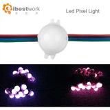 Indicatori luminosi di natale indirizzabili individualmente LED del PUNTINO LED del pixel di Colorfull dell'indicatore luminoso