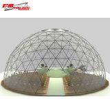 30m Durchmesser Kurbelgehäuse-Belüftung, transparentes Glasgeodäsieabdeckung-Zelt-Haus