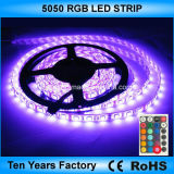 12V de 5 metros SMD impermeable tira de LED RGB 5050
