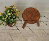 Твердый деревянный круглый табурет (M-X2595)