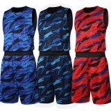 Nouveau style personnalisé sport maillot de basket-ball de camouflage