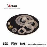 Custom de la junta de caucho de silicona de grado alimenticio con RoHS Rach FDA