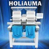 Holiauma真新しい自動二重ヘッド3D帽子の刺繍機械