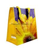Promoção delicados tecidos tecidos PP laminado BOPP Sacola de Compras