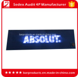 Custom Eco-Friendly PVC tapetes de Barra de LED Bar Personalizado Tapete de derramamento