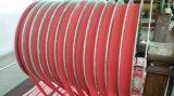 Dunkle graue glatte PUNKT Muster-Rollen-Bedeckung für Textilmaschinerie