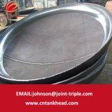 02-19 la testa a fondo piatto del acciaio al carbonio ha fatto domanda per le parti della caldaia 5200mm*12mm