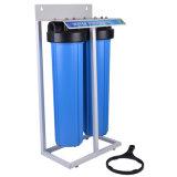 """2 Etapas 20"""" Azul grande sistema de filtro de água do alojamento do filtro"""