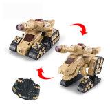 子供のためのロボットカーラジオの送信機RCタンクを変更しなさい