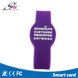 Wristband del silicone RFID di HF
