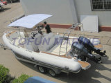 De Buis Hypalon van de rib van de Boot (RIB830) voor Verkoop