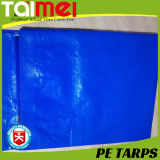 고품질 파란 220GSM D-환형물 방수포