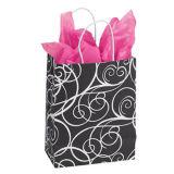 Pequeñas bolsas de papel de las compras de Shoppper del papel de la escritura de París