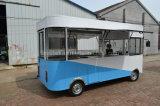 Электрический обедая автомобиль и автомобиль еды как Moving кухня
