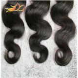 100%のブラジル人の毛の織り方ボディ波のRemyの人間の毛髪の拡張