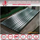 Hoja de Gl Roofing Panel / Galvalume acanalada de acero / Alu-Zinc perfiles de cubierta