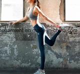 여자 체조 각반, 체조 또는 스포츠 착용, 살짝 미는 한 벌, 요가 바지