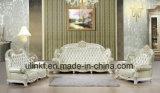 El nuevo diseño de lujo de cuero clásico Real Sofá de la esquina (UL-NSC084)