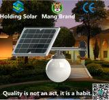 モノクリスタルのパネルの太陽庭LEDの庭ライト