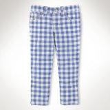 Commerce de gros de fille de style européen Printted pantalon, un pantalon long pour les enfants
