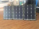 야영을%s 10m 케이블을%s 가진 휴대용 120W 총괄적인 태양 전지판