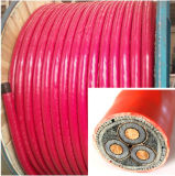 8.7/15 PVC Sheathed Power Cable 3X185mm2 do quilovolt Copper Conductor XLPE Insulated Armored