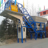 pequeña planta de procesamiento por lotes por lotes concreta móvil 25m3/H con precio de fábrica