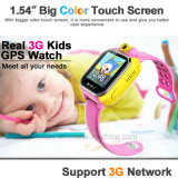 3G intelligents Les enfants regardent avec GPS + LBS + WiFi Position (D18)
