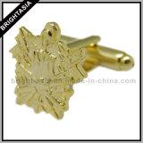 Gouden Manchetknoop Solider voor het Militaire Embleem van het Leger (byh-10429)