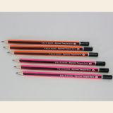 Crayons de triangle Hb avec revêtement de rayures et fin de DIP