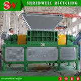 Dos Trituradoras Refridge árbol utilizado para el reciclaje de residuos E