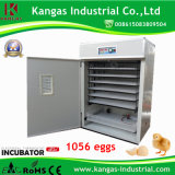 Incubateurs pour les oeufs à couver des oeufs de poule CE Holding 1056 Approuvé automatique (KP-10)