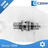 Alta precisión engranaje helicoidal del engranaje de transmisión a medida para distintos dispositivos