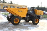 site Dumper de 3.0ton Front Wheeled avec 180 Degree Swiving Bucket