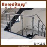 ステアケース(SJ-S327)のための優雅なデザインステンレス鋼ケーブルの柵