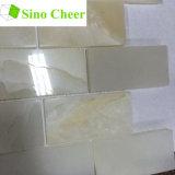 Material de construcción Decorarive Onyx de color blanco de Metro de azulejos de mosaico