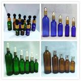 Huile essentielle bouteille en verre avec compte-gouttes en verre (LDJ501)