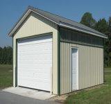 Los lados rectos y estructura de acero prefabricados techo redondo Almacén (KXD-105)
