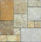 Mosaico de pedra utilizada no piso e paredes de pedra e piso de mosaico mosaico mosaico de parede