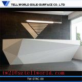 Comptoir avant de diamant moderne Surface solide avant de la table de bureau