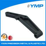 Componente de fresado CNC anodizado negro