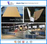 WPC Hollow Boards para decoração de parede linha de extrusão / máquina de fazer