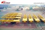 골격 유형을%s 가진 반 3axles 60ton 콘테이너 트럭 트레일러